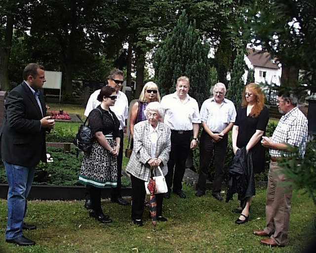 Gedenken an August Birlenbach 28.07.2012