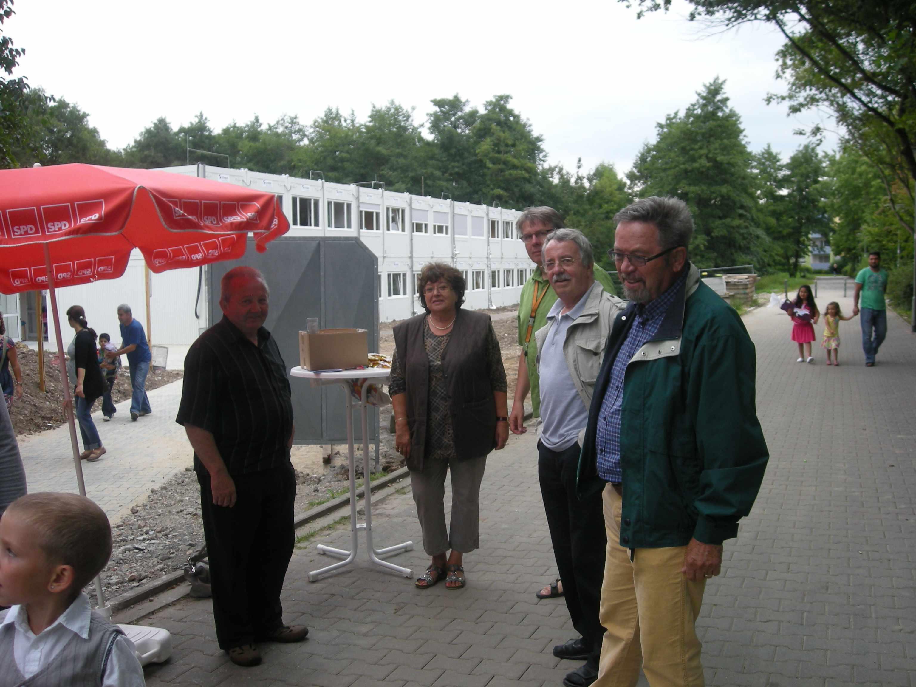 Einschulung in Waldhof 2012