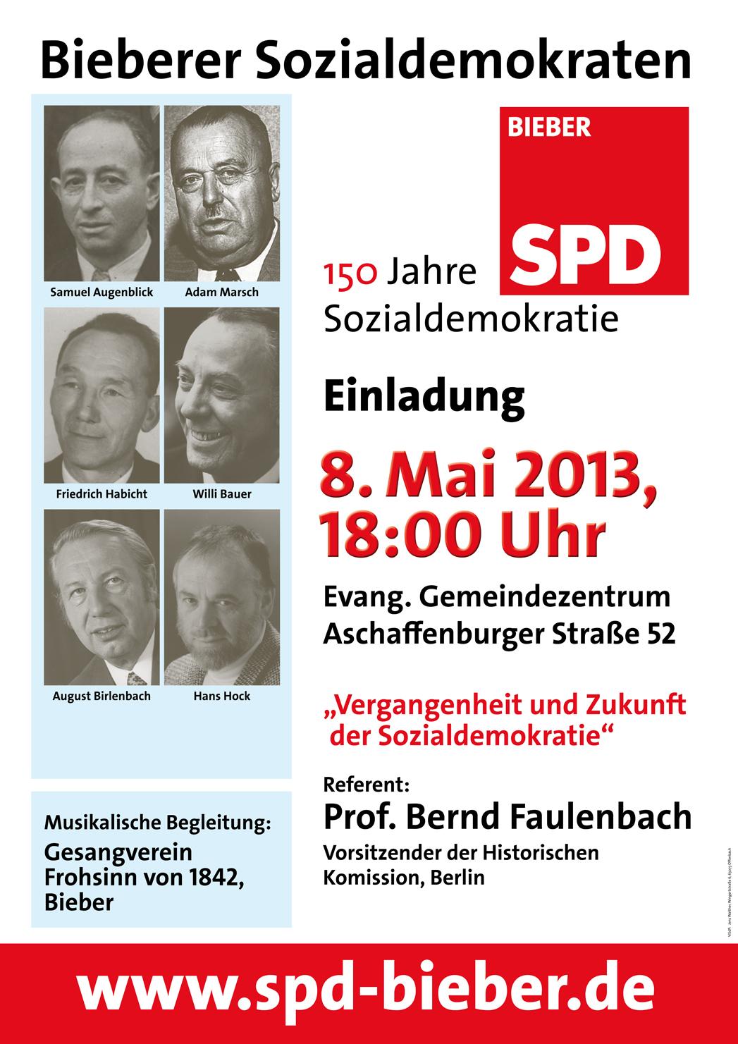 150 Jahre Sozialdemokratie